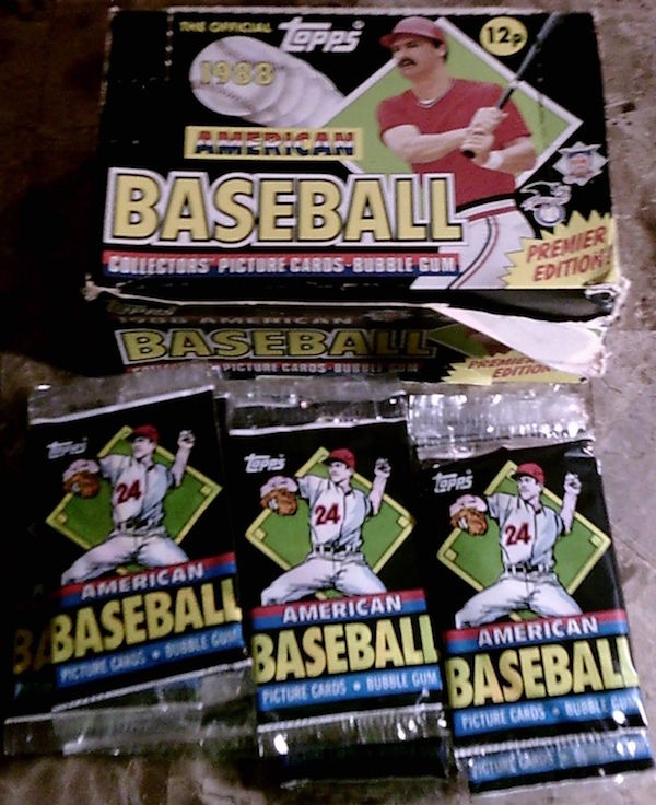 1988 Topps UK Minis Unopened Packs