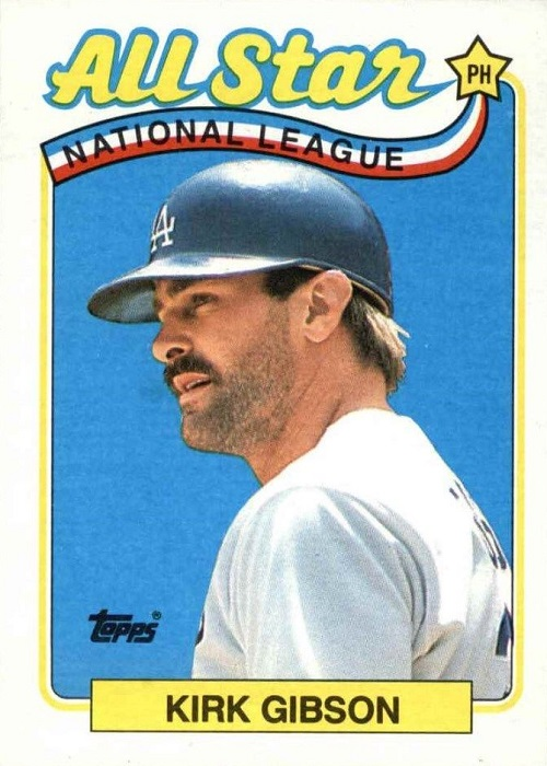 1989 Topps All-Star Kirk Gibson