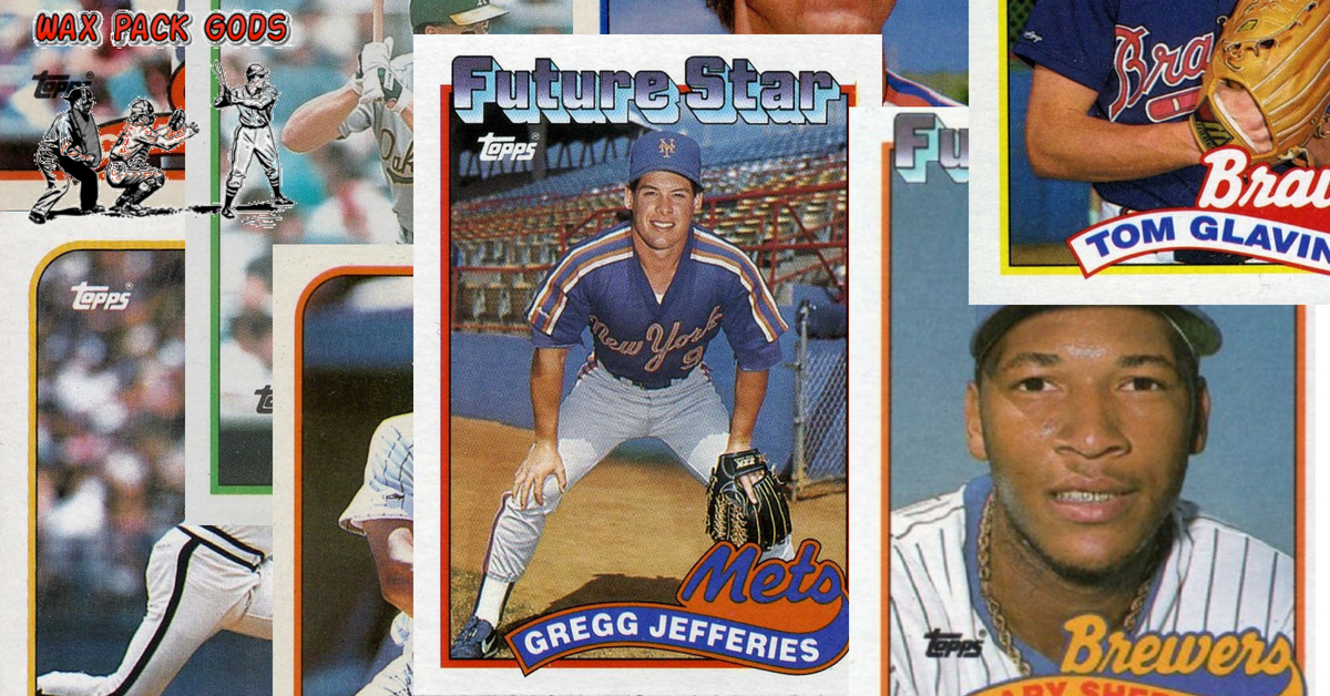1989 Topps Baseball Cards Value What Are They Worth