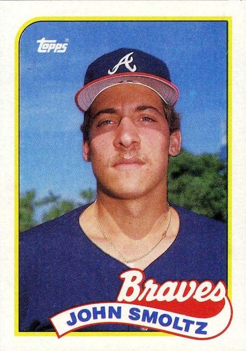 1989 Topps John Smoltz rookie card