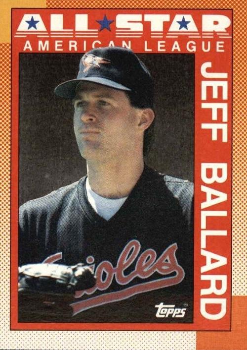 1990 Topps All-Star Jeff Ballard