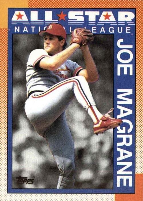 1990 Topps All-Star Joe Magrane