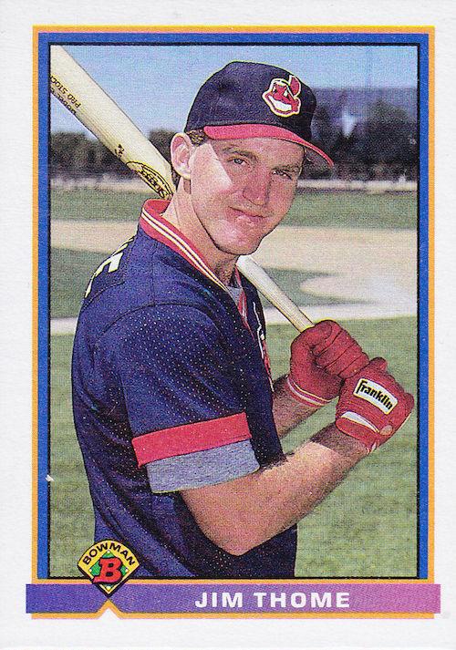 1991 Bowman Jim Thome