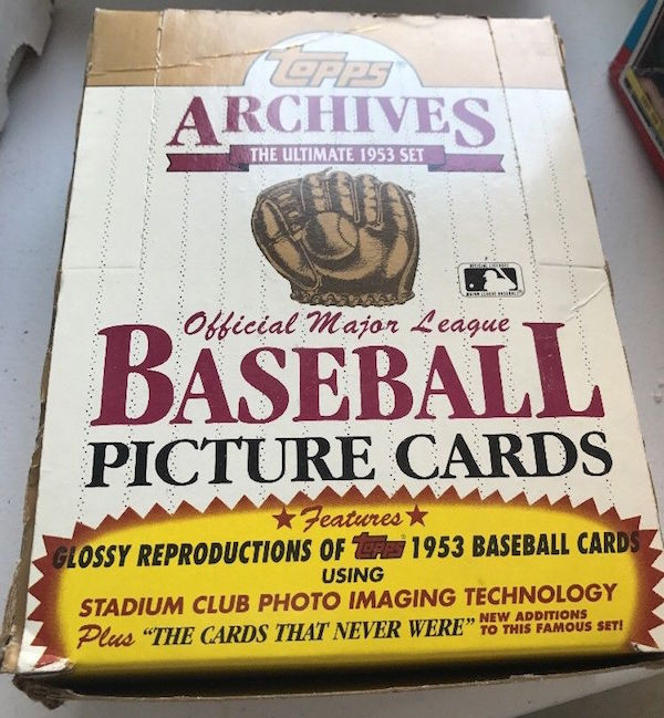 1991 Topps Archives 1953 Reprints Unopened Box