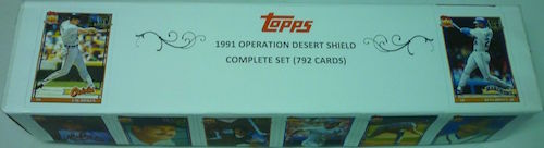 1991 Topps Operation Desert Shield Complete Set