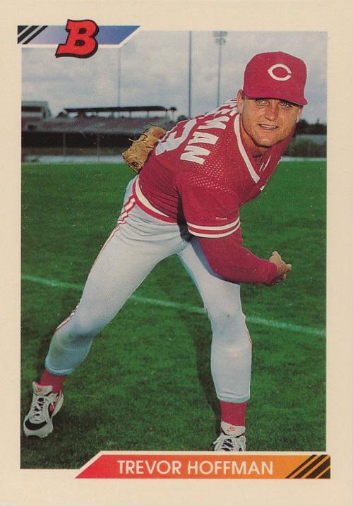 1992 Bowman Trevor Hoffman Rookie Card