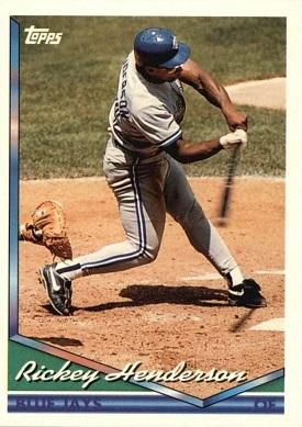 1994 Topps Rickey Henderson
