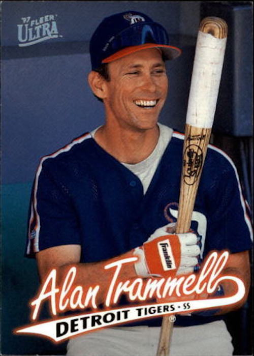 1997 fleer ultra alan trammell