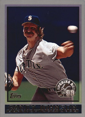 1998 Topps Opening Day Randy Johnson