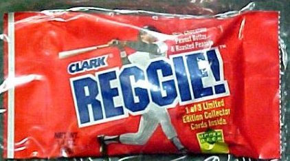 Reggie! Bar from Clark - Unopened 1978 Reggie Jackson Candy Bar