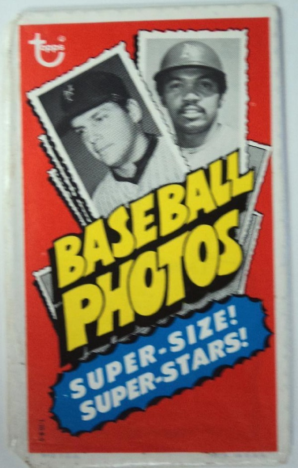 1974 Topps Deckle Edge Unopened Pack