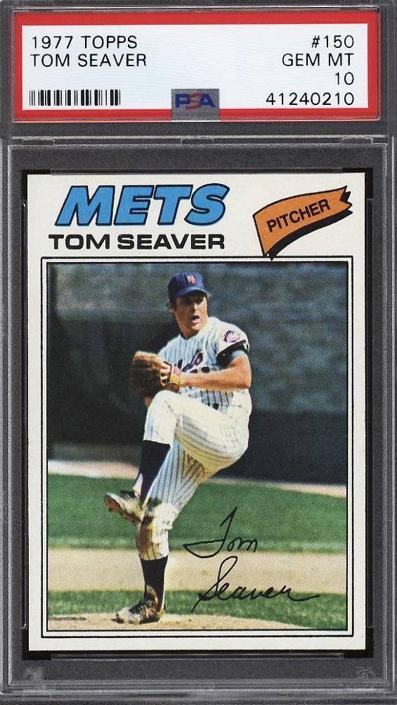 1977 Topps Tom Seaver (PSA 10)