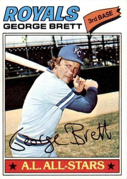 1977 topps George Brett
