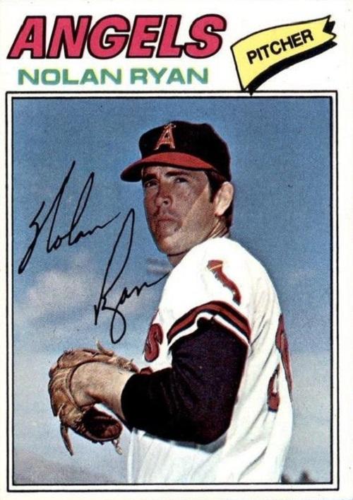 1977 topps Nolan Ryan