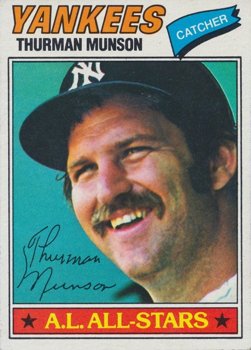 1977 topps Thurman Munson