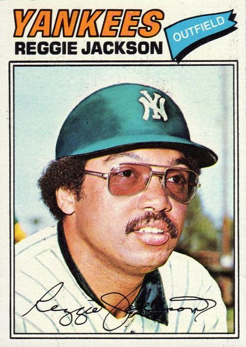 1977 topps reggie jackson
