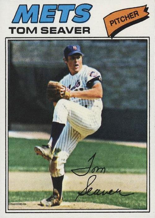 1977 topps tom seaver