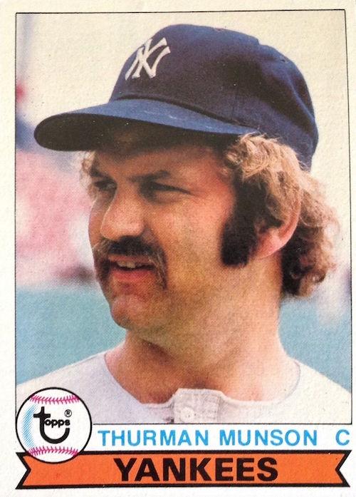 1979 topps Thurman Munson