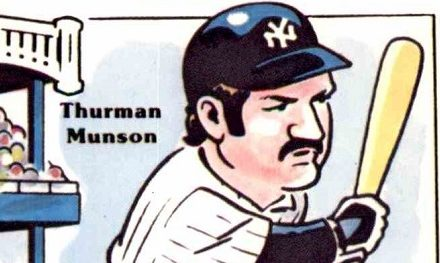 Oddball Bookends: The First and Last Thurman Munson Baseball Cards