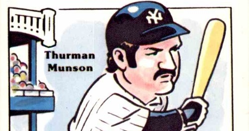 Oddball Bookends The First And Last Thurman Munson Baseball