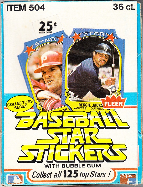 1981 Fleer Baseball Star Stickers