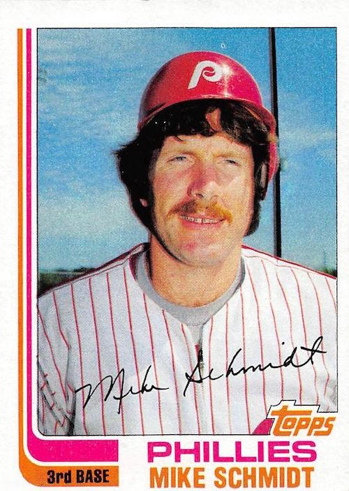 1982 topps Mike Schmidt