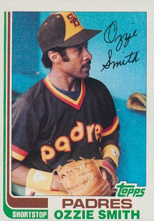 1982 topps Ozzie Smith