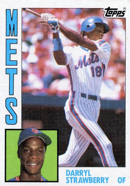 1984 topps Darryl Strawberry