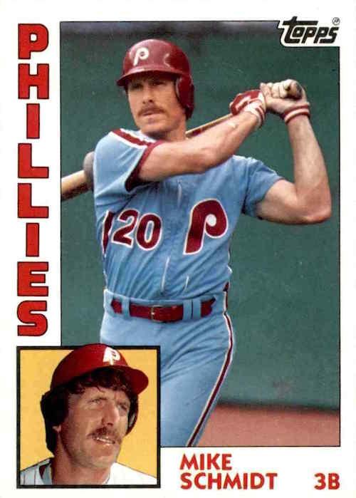1984 Topps Mike Schmidt (#700)