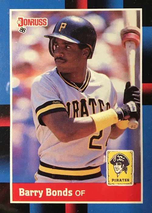 1988 Donruss barry bonds