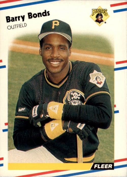 1988 fleer Barry Bonds