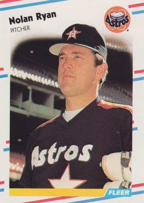 1988 fleer Nolan Ryan