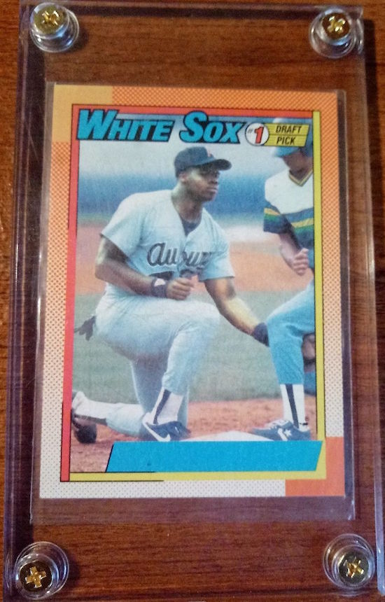 1990 Topps Frank Thomas Rookie Card NNOF