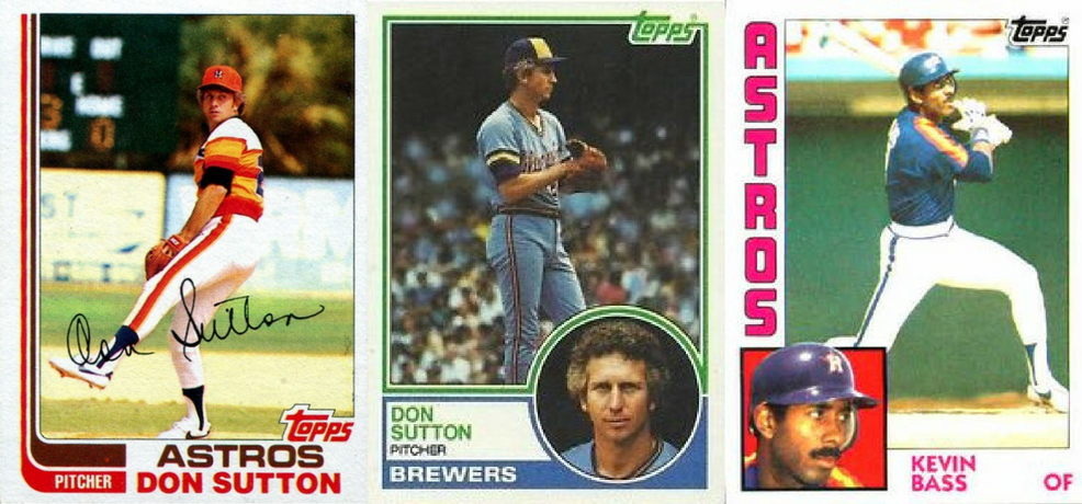 Kevin Bass for Don Sutton