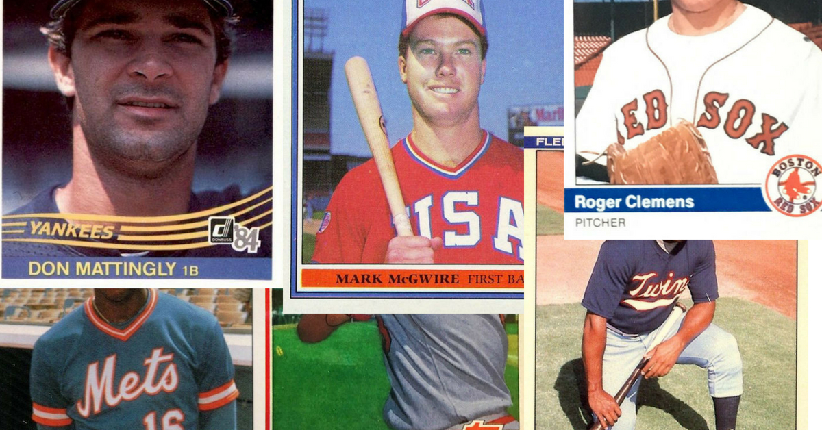 Best Of The Boom The 10 Most Valuable 1980s Baseball Cards