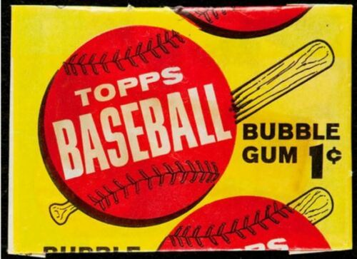 1963 Topps Wax Pack one-cent