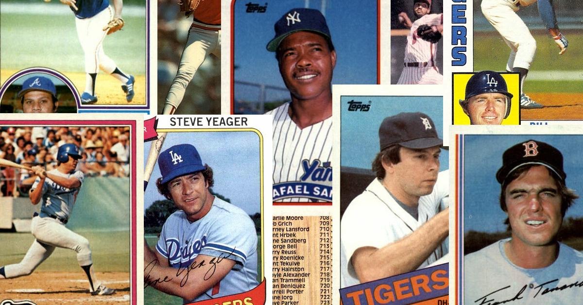 Last 1980s Topps Baseball Cards