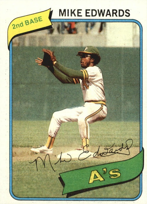 1980 Topps Mike Edwards