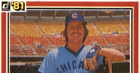 1981 Donruss Mick Kelleher  Baseball Card Mocks the Chicago Cubs