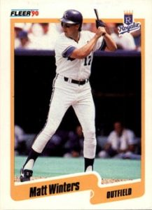 1990 Fleer Matt Winters