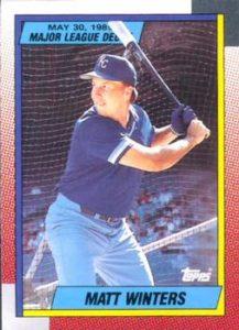 1990 Topps Matt Winters
