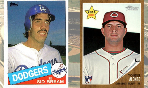 Rookie Card Showdown: Yonder Alonso v. Sid Bream