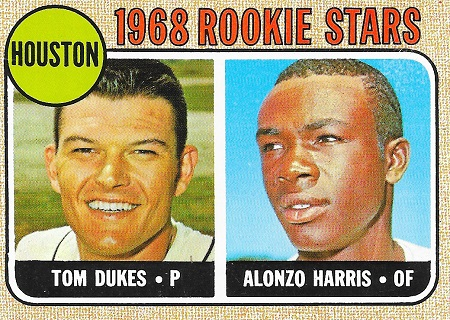 1968 Topps Candy Harris