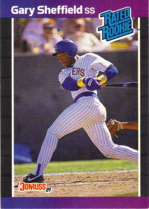 1989 Donruss Gary Sheffield