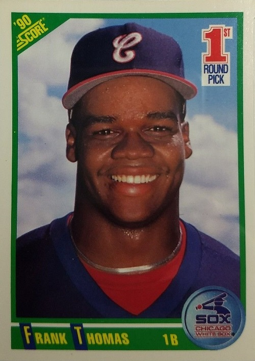 1990 Score Frank Thomas Rookie Card Wax Pack Gods