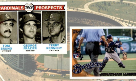 Rookie Card Showdown: Jonathan Lucroy v. Terry Kennedy