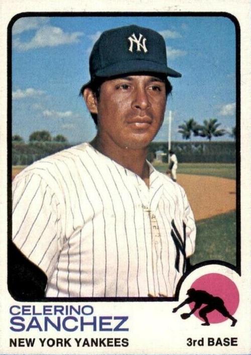 1973 Topps Celerino Sanchez