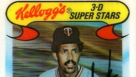 1978 Kellogg's Lyman Bostock a Fitting Last Card that Came Much Too Soon
