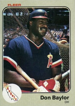 1983 Fleer Don Baylor
