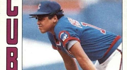 1984 Topps Carmelo Martinez Speaks the Poetry of Baseball